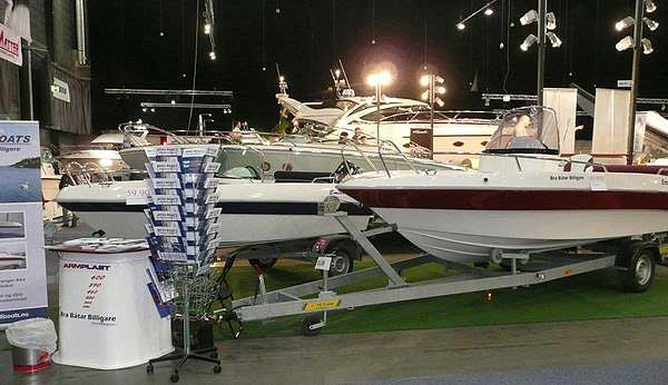UAB Armplast Boat Show 2011, Lillestrom, Norway